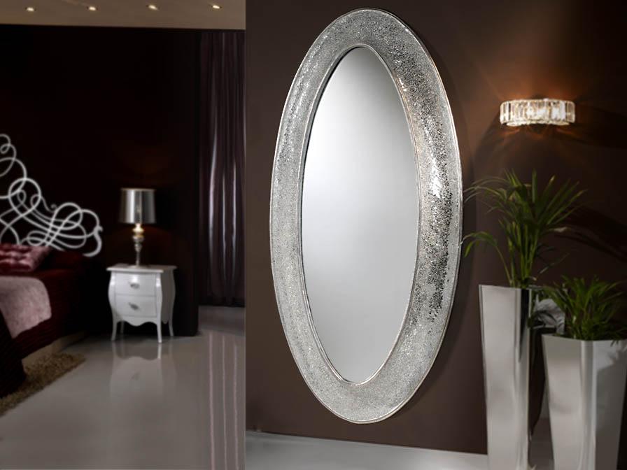 Gaudi spiegel oval Vestidor 218x110cm - Silberwaschpfanne