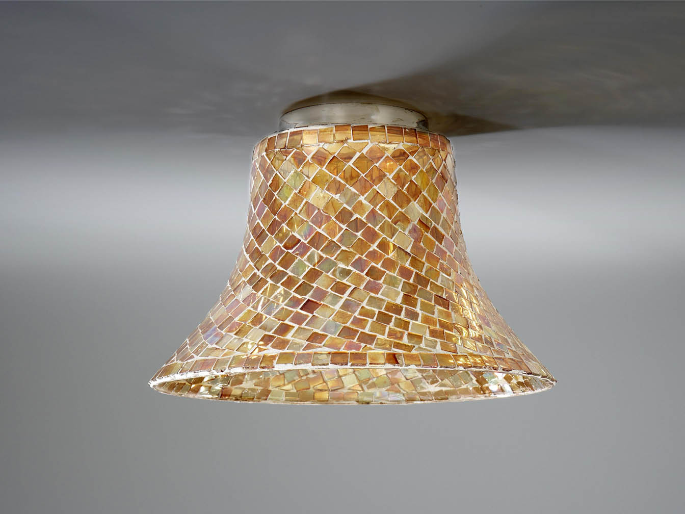 lampshade mosaic Glass orange