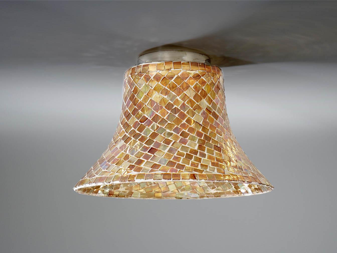paralume mosaico Vetro arancioni