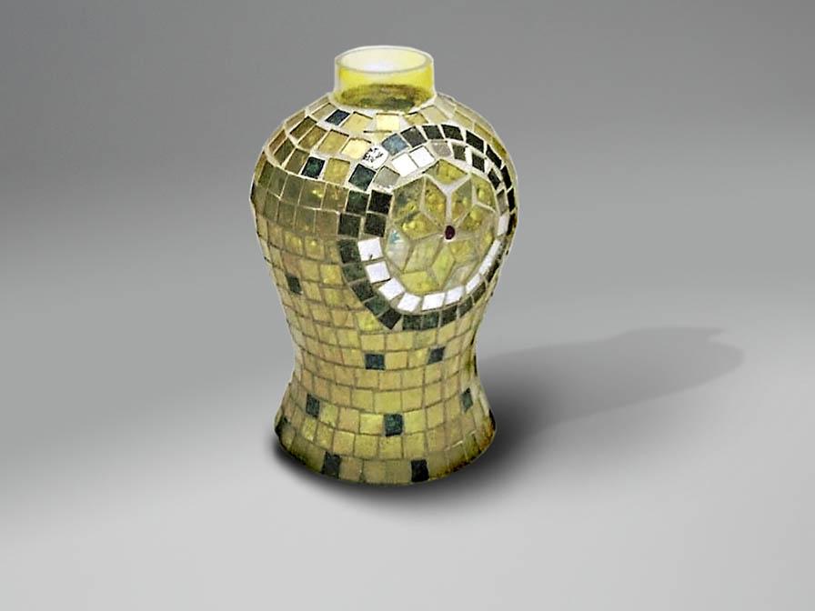 paralume mosaico Espejitos Giallo
