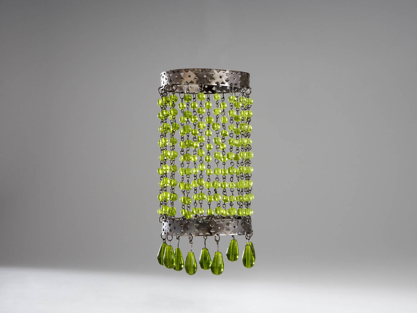 Accesorio tulipa Clásica Cristalitos Verde