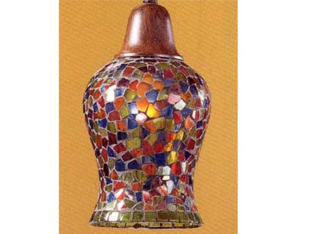 Accessory lampshade mosaic Glass various Colors