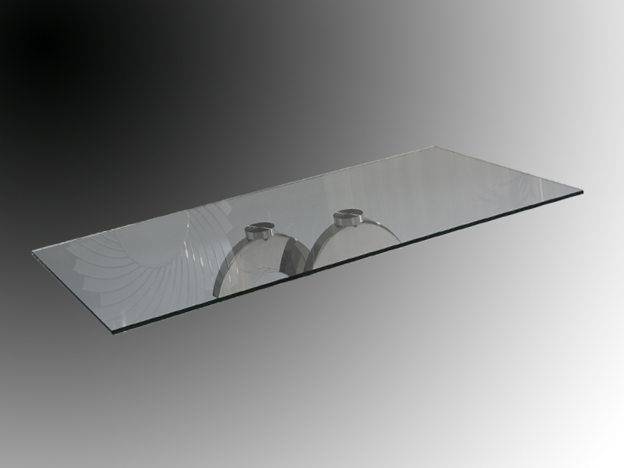 Calima (Accessory) Glass rectangular 160x90cm/10mm