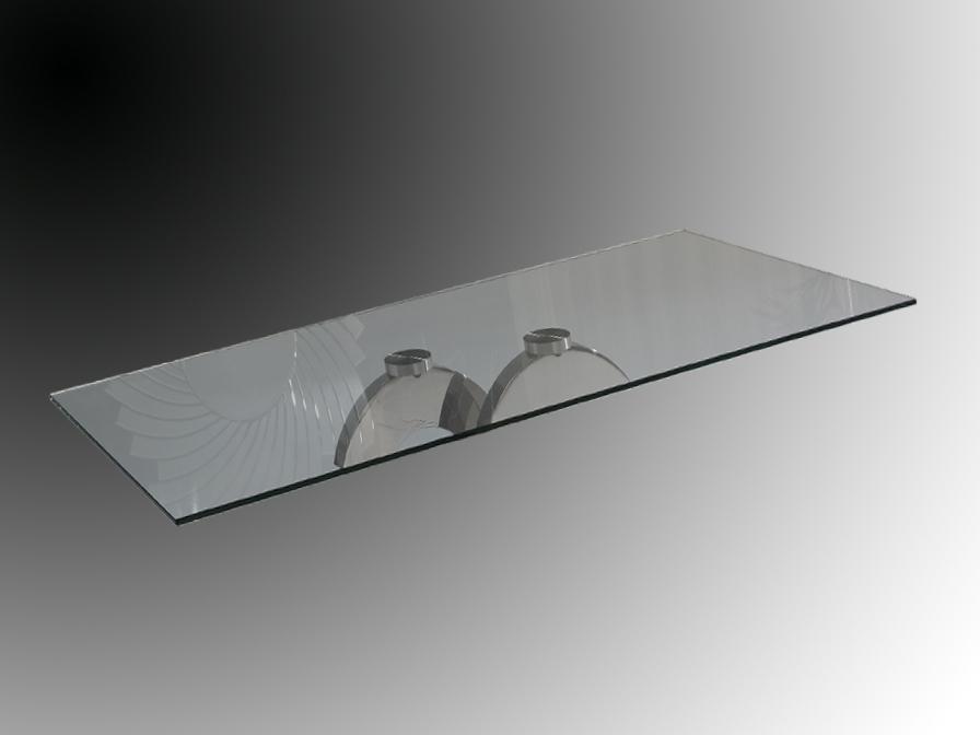 Calima (Accessorio) Vetro rettangolare 160x90cm/10mm