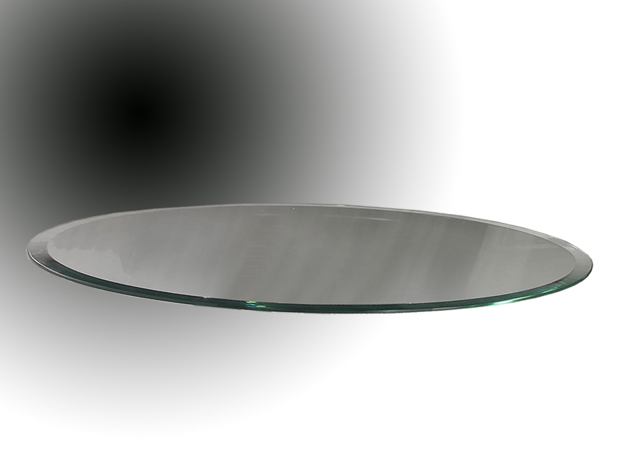 Accessory Glass oval 180x90cm/12mm