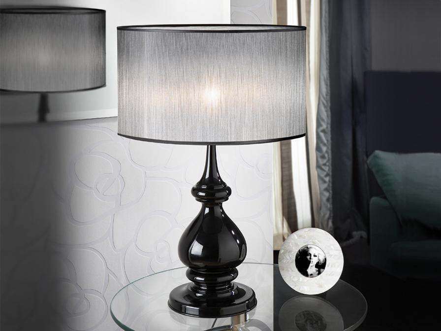 Sophia Table Lamp 1L Black