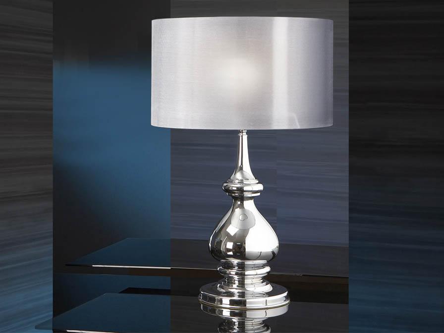 Sophia Table Lamp 1L Chrome