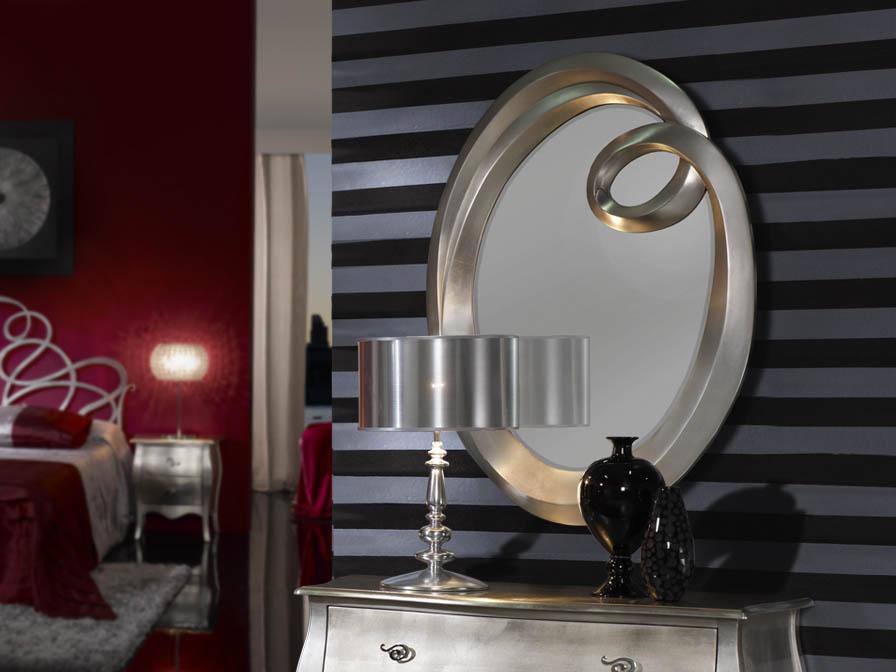 Ronda spiegel Klein Silberwaschpfanne