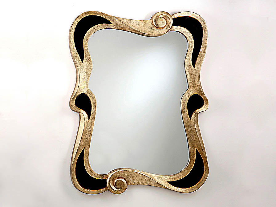 mirror Modernista Black/Silver
