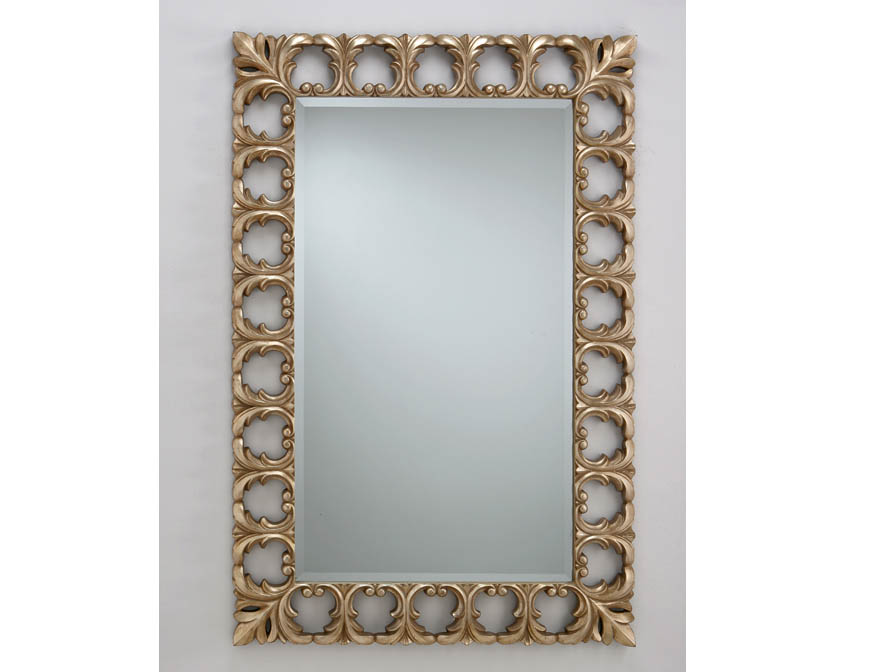 espejo Calado Pan de Plata