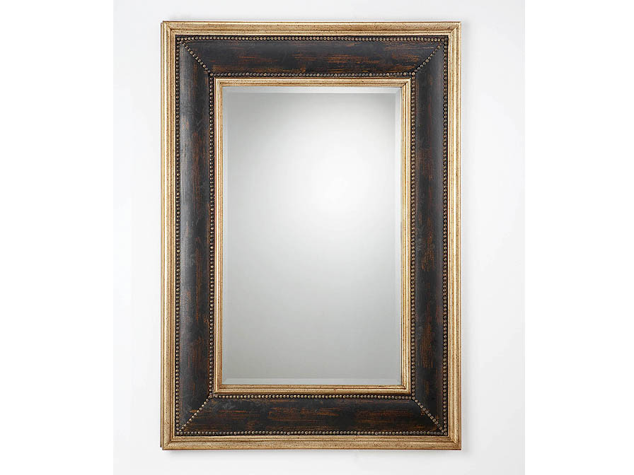 rectangular mirror Framework Black