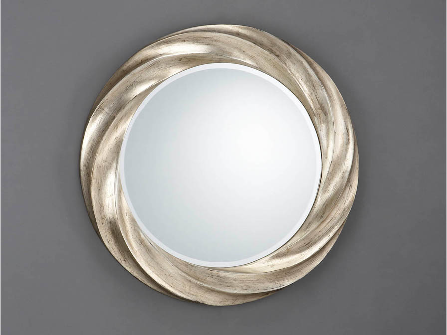 Rodas miroir Ronde Helicoidal ø76 Argent âgé