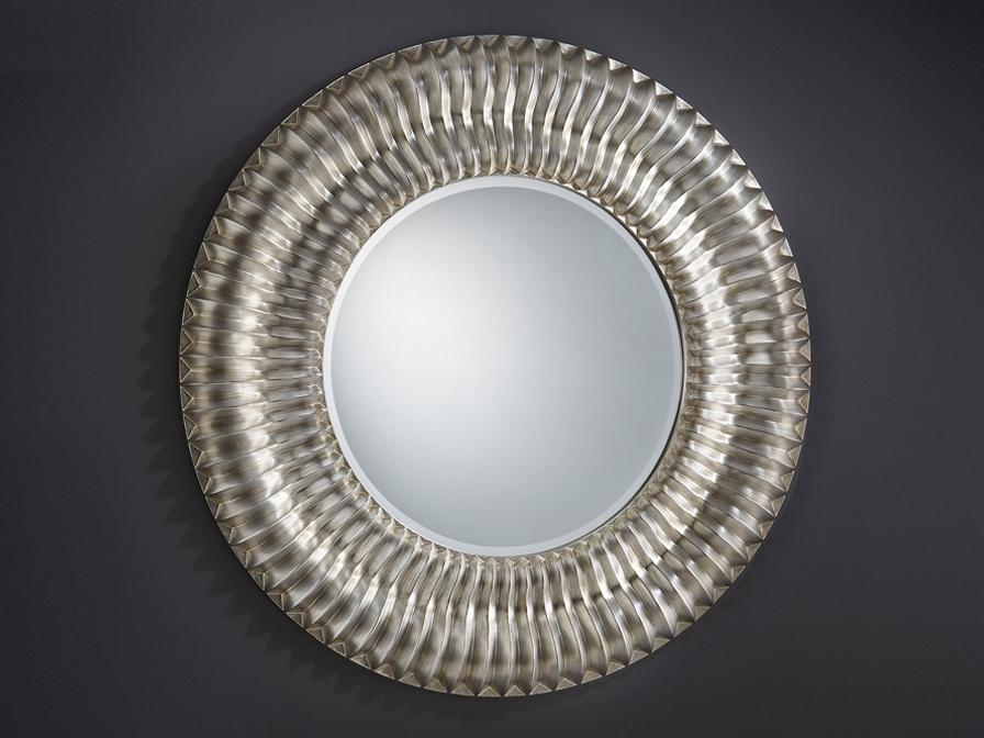 spiegel Radial Runde Silber