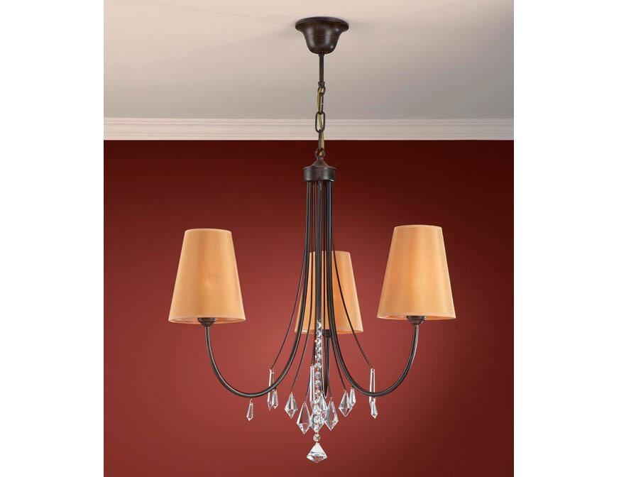 Alanis Pendant Lamp 3L oxide forge