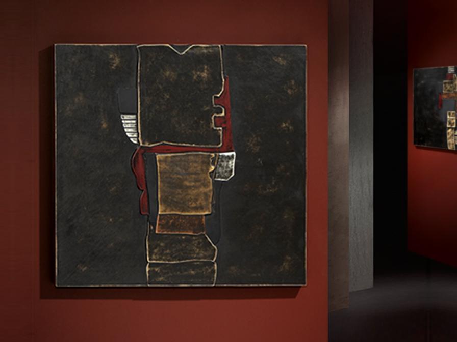 Alegoria I bas-relief Piel Simil
