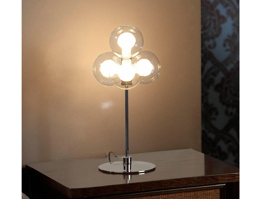 Nica Table Lamp 4L bright chrome