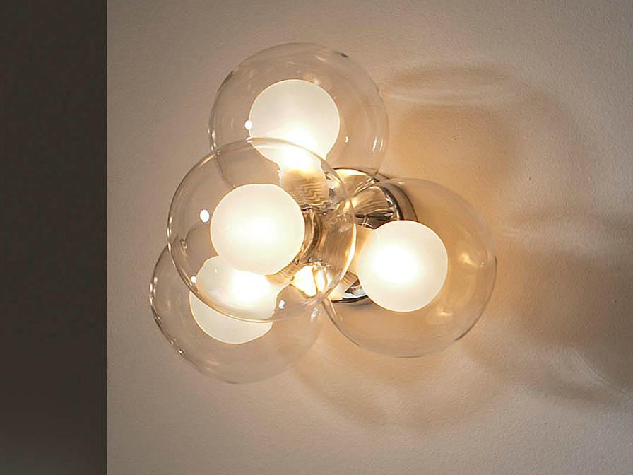 Nica Wall Lamp 4L bright chrome