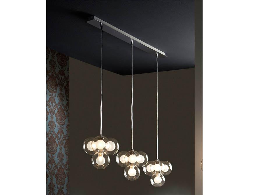 Nica Pendant Lamp 12L bright chrome