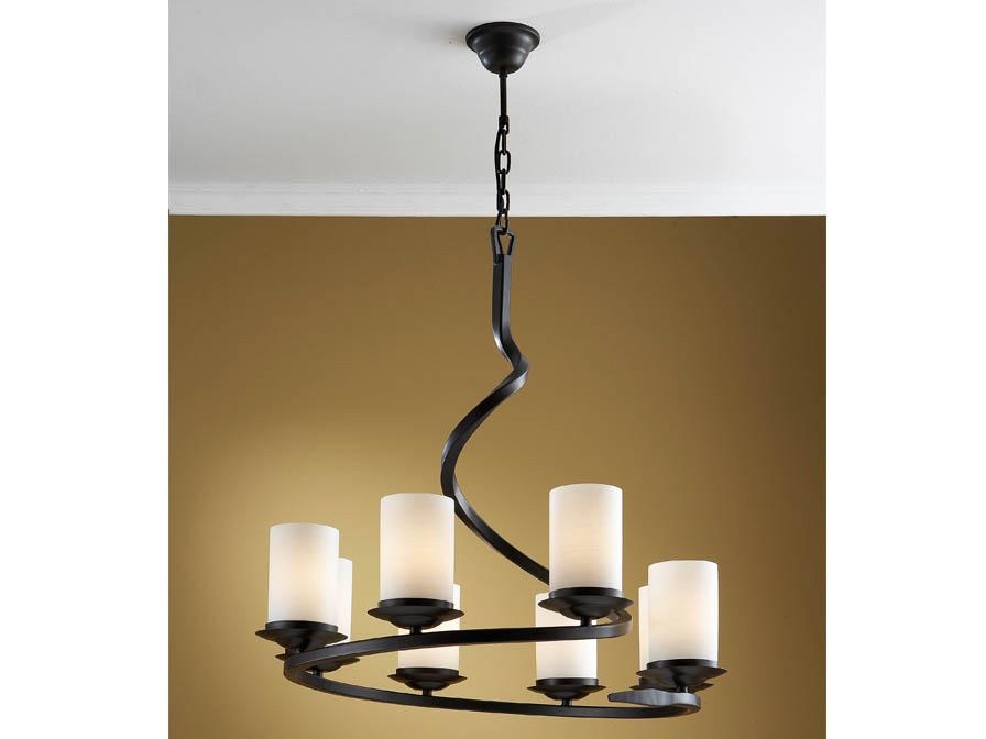 Crisol Pendant Lamp 8L Black Óxido