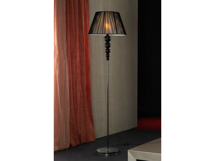 Mercury lámpara of Floor Lamp 1L Black