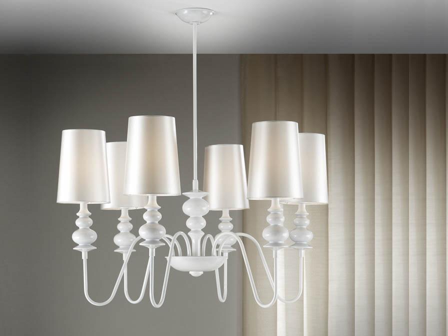 Babylon Pendant Lamp 6L white