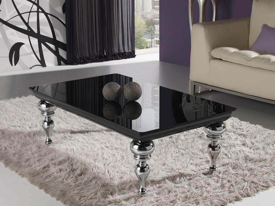 Clarice table rectangular Centro Black