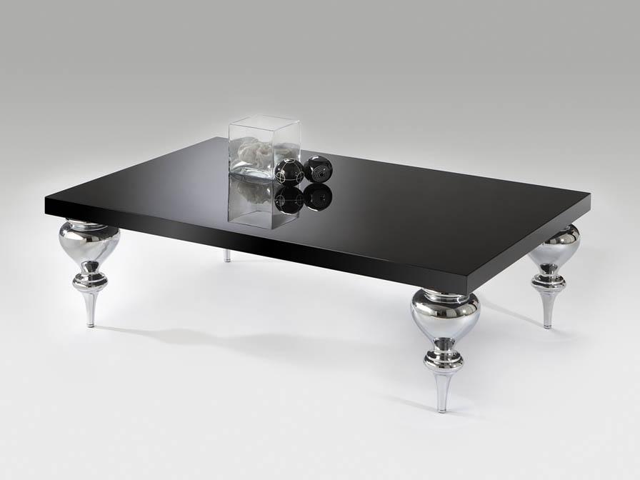 Sophia table rectangular black