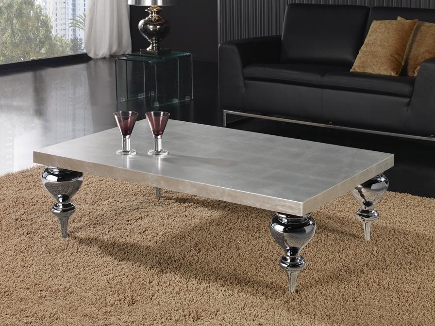 Sophia mesa rectangular Plata