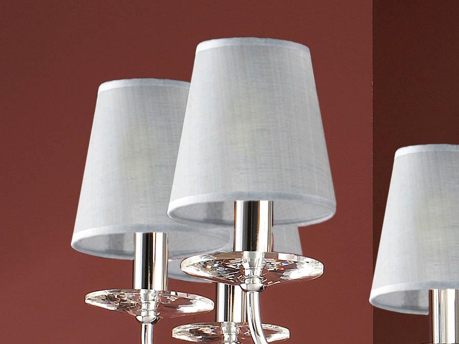 lampshade pin round Plomo