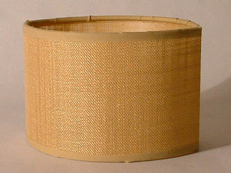 Accessory lampshade E27 oval Brown