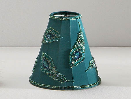 lampshade pin round Green/Pluma
