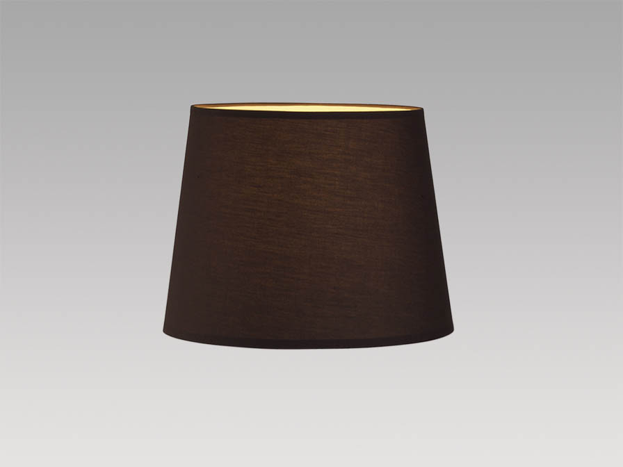lampshade Brown 32cm Atlas