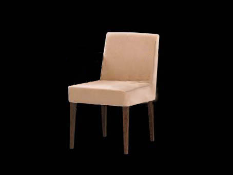 Zen silla Acabado Nogal + Tapizado