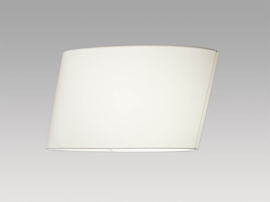 Flow white lampshade 31cm