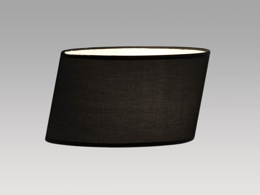 Flow lampshade black 31cm