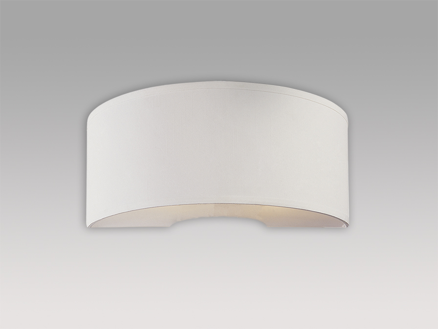 Domo (Accessory) lampshade Wall Lamp Chinz white