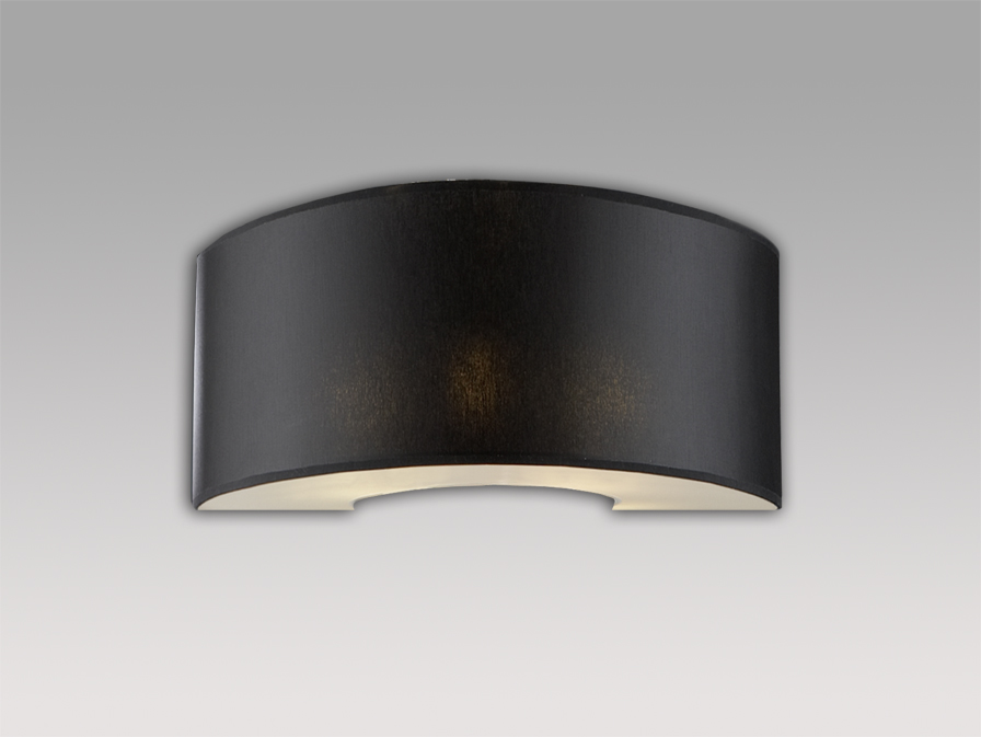 Domo (Accessory) lampshade Wall Lamp Chinz Black