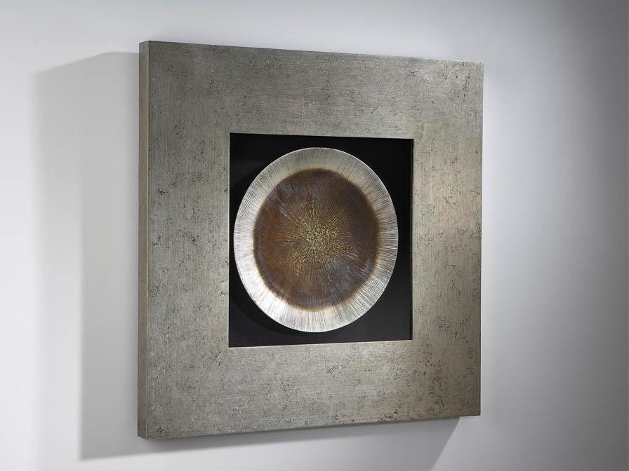 Luna bas-relief Framework Silver Leaf