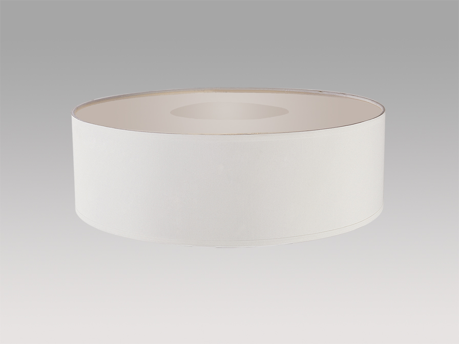 Domo abat-jour Lampe de table Chinz blanc ø45