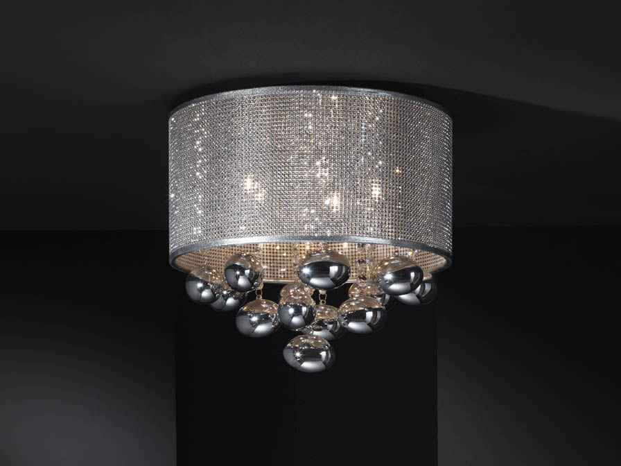 Andrómeda ceiling lamp 5xG9 LED 6W Chrome