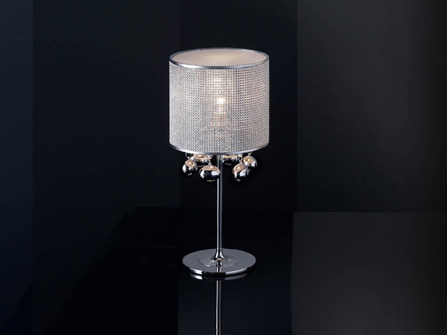 Andrómeda Table Lamp Small 1xE14 42W Chrome