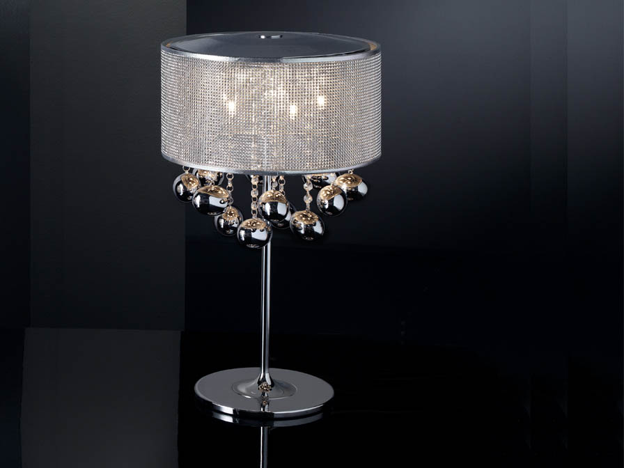 Andromeda Table Lamp Small 5xG9 42W Chrome