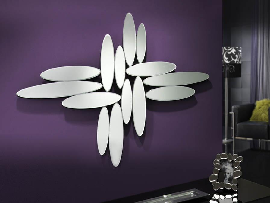 Domo miroir Argent 103x140cm