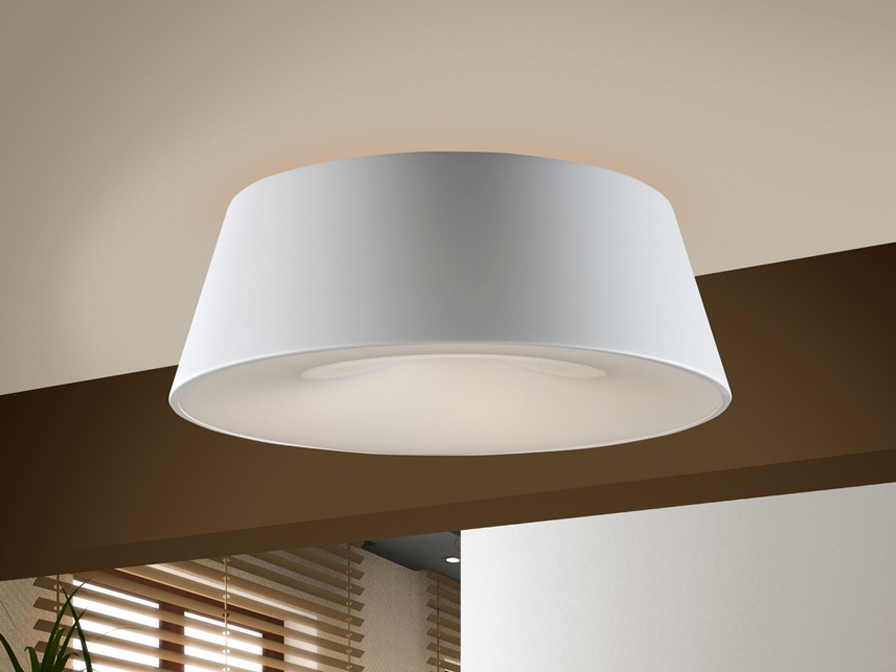Zone ceiling lamp ø48cm 4L E27 White matte white