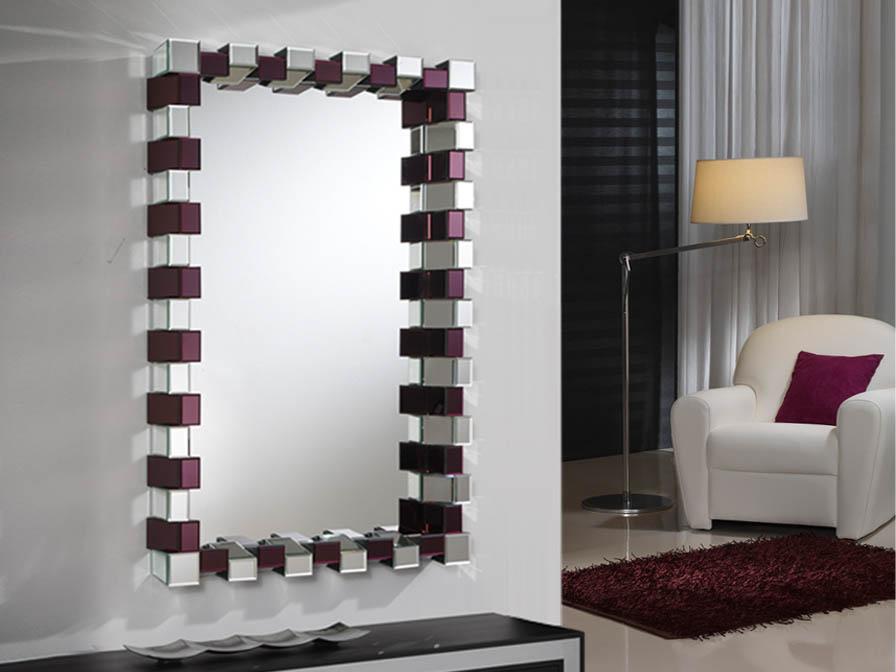 Amatista espejo Vertical prisma