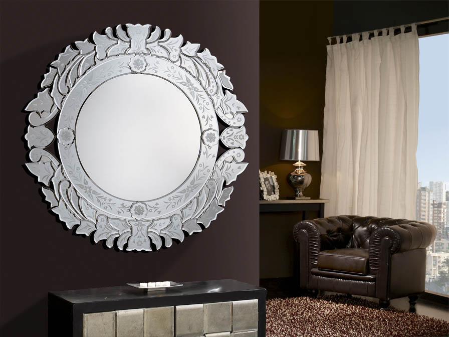 Audry mirror Round 82cm