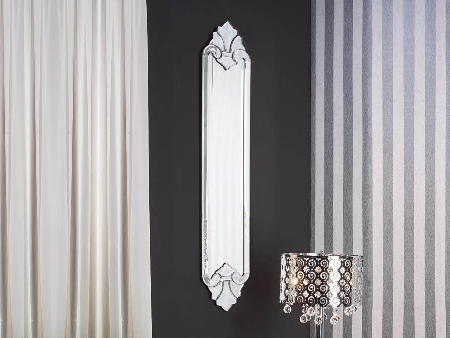 Atenas mirror Silver without Bisel