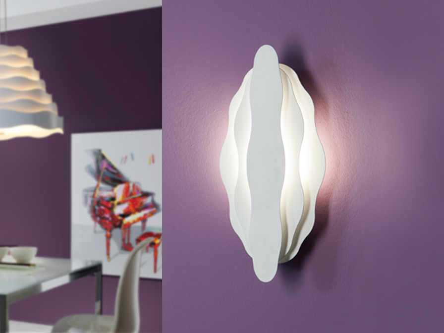 Boira Wall Lamp 2L white