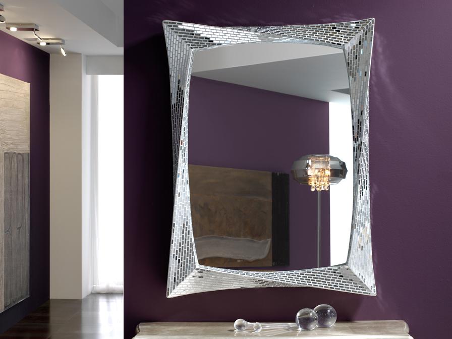 Deco Gaudi espejo rectangular