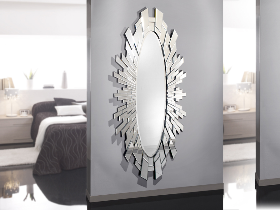 Domine dressing mirror oval